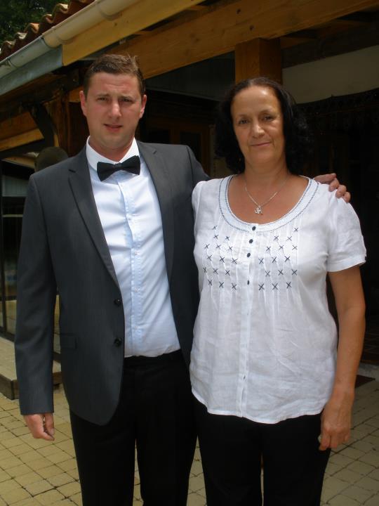 Josh With His Mum Trudi August 2017