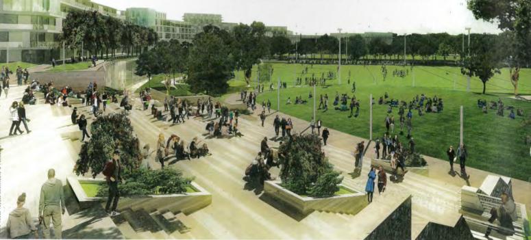 Restoring Dublin's Missing Link: The Grangegorman Urban Quarter Development