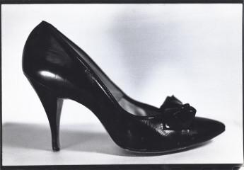 Heel, 1981 gelatin-silver print