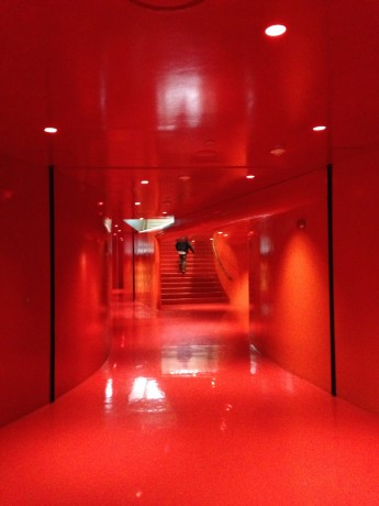 The Red Floor at Seattle Public Library (OMA, Architect)
