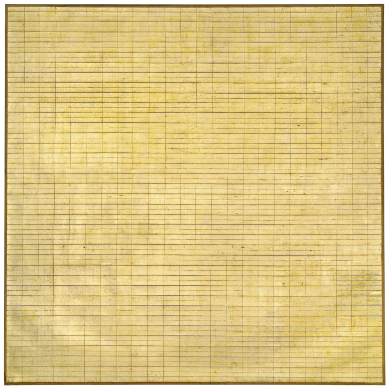 Friendship 1963. Museum of Modern Art, New York © 2015 Agnes Martin / Artists Rights Society (ARS), New York