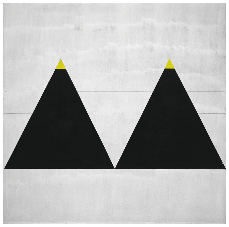 Untitled #1 2003. Fondation Louis Vuitton, Paris © 2015 Agnes Martin / Artists Rights Society (ARS), New York