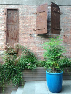 The garden at 2015 Sweatbox