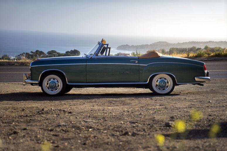 1958_Mercedes_220_SE_Cabriolet