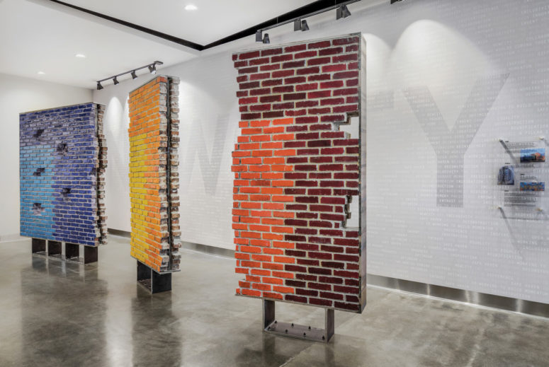 A colorful installation memorializes one of Chicago's lost YMCAs