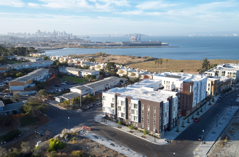 New 100-percent-affordable apartment complex takes root on remediated land in San Francisco