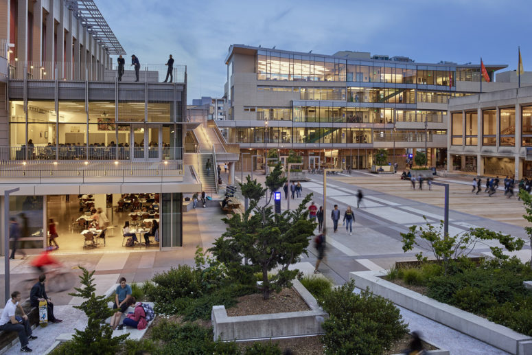Lower Sproul Redevelopment / Moore Ruble Yudell Architects and Planners